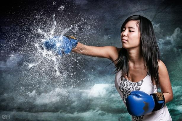Maï : H2o Boxeuse
