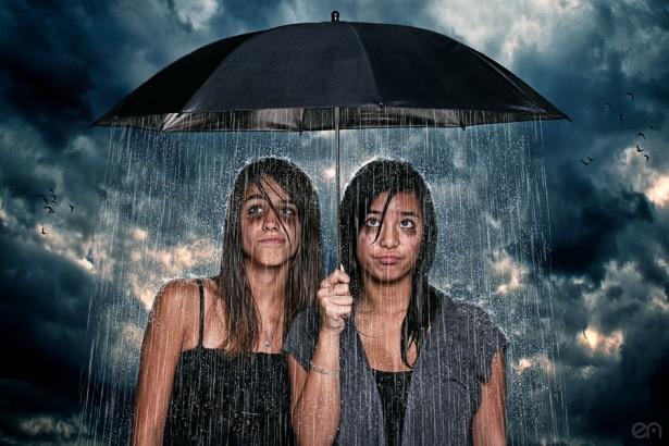 Il pleut, il pleut, bergères