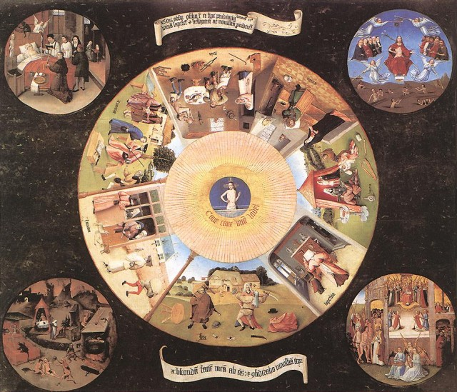 The Seven Deadly Sins and the Four Last Things (Hieronymus Bosch)